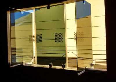 janela de vidro pi
